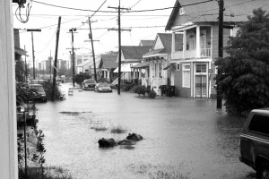 Flooding in New Orleans (picture source: livingwithwater.com).